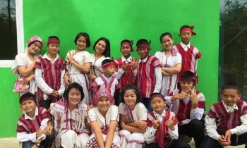 โครงการGiveครั้งที่ 3 อบรมศิลปะและดนตรีสำหรับเยาวชนผู้ด้อยโอกาส ณ บ้านพักพิงเด็กนักเรียนบ้านป่าเด็งใต้ อ.แก่งกระจาน จ.เพชรบุรี